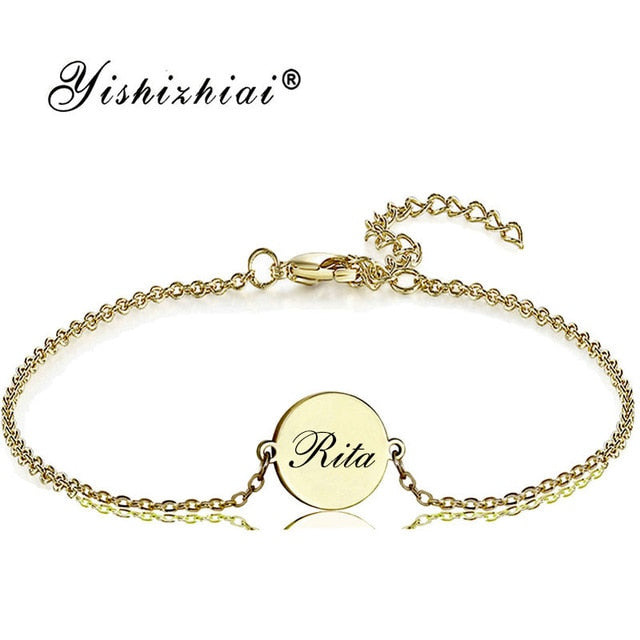 Personalized Muse Name Bracelet Personalized Muse Name Bracelet - dailypersonalized.comZSE Online Store 18K Gold Plated