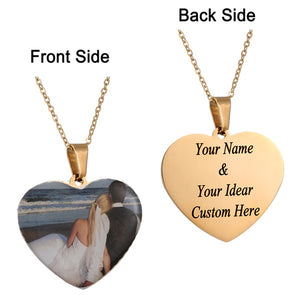 Personalized Charm Photo Necklaces Personalized Charm Photo Necklaces - dailypersonalized.comAMORUI Jewelrys Store