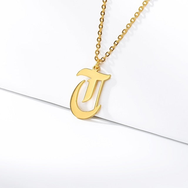 Initial Necklaces Initial Necklaces - dailypersonalized.comCAVSUAT Store T / Gold Plated