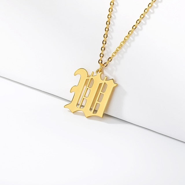 Initial Necklaces Initial Necklaces - dailypersonalized.comCAVSUAT Store W / Gold Plated