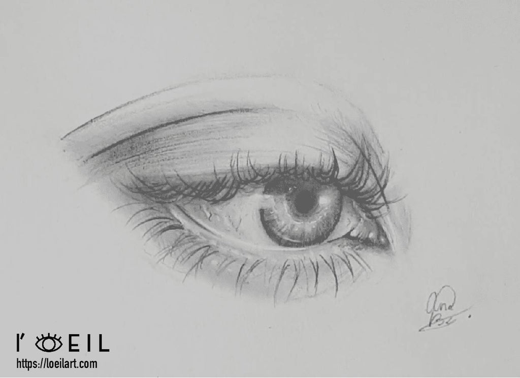 Learn Drawing an Eye with Annelies