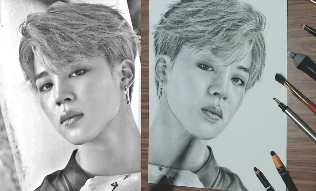 Assemble all the Jimin's fans and draw together (Part I)