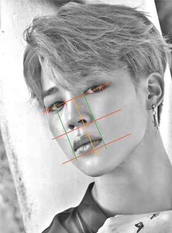 Assemble all the Jimin's fans and draw together l'oeil loeil drawing graphite pencil tutorial portrait blog post