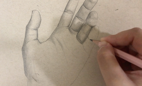 How to draw hands a basic guiding tutorial for beginners guide easy step by step fast simple shading graphite pencil