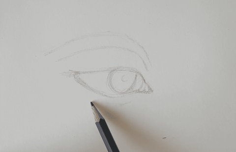 oeil art blog sketching pencil artist eye drawing drawing how to draw
