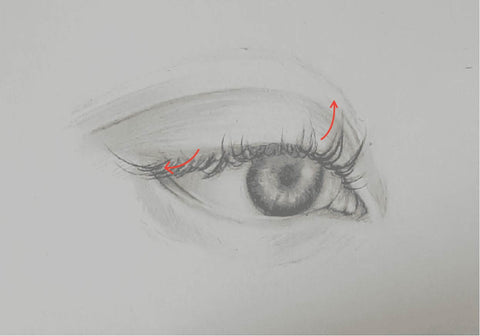 Loeil art blog sketching pencil artist eye drawing drawing how to draw