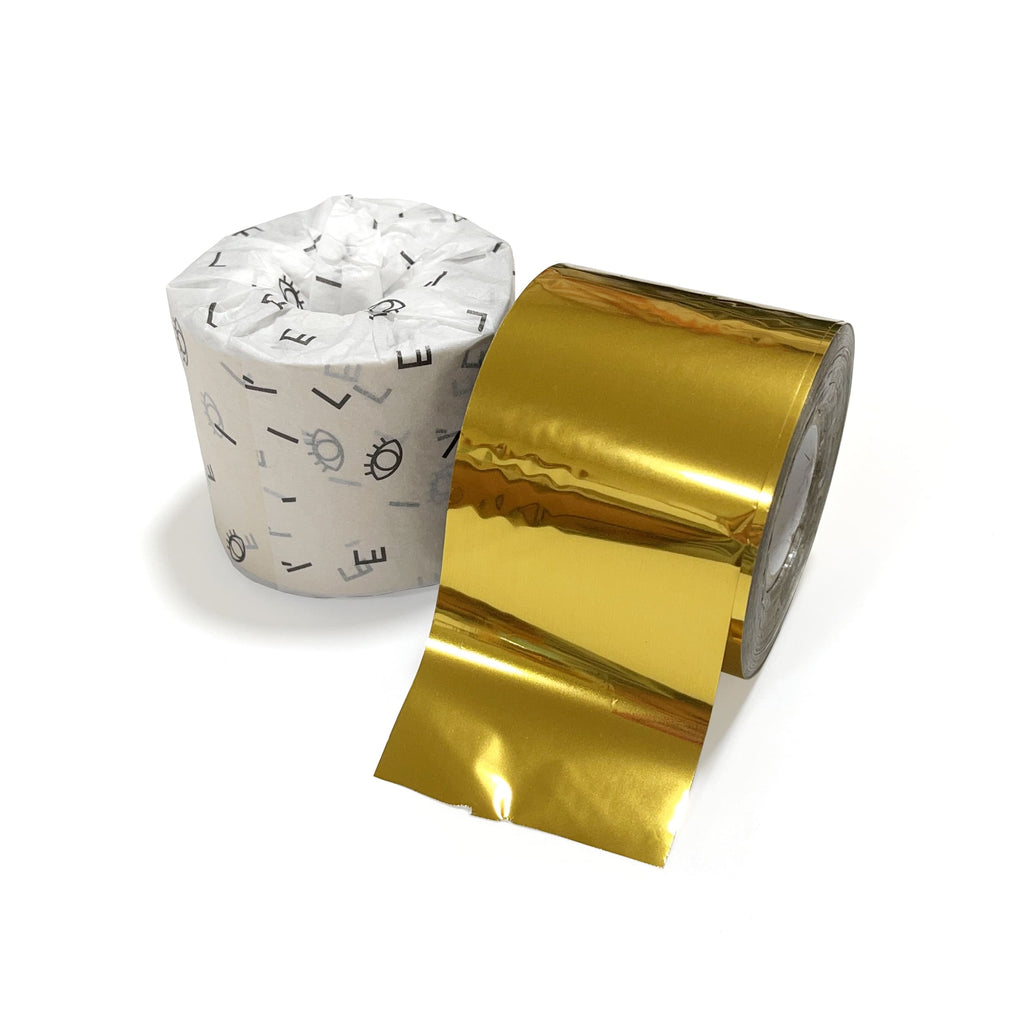Gold Leather Foil for Hot Foil Stamping 5cm X 120m
