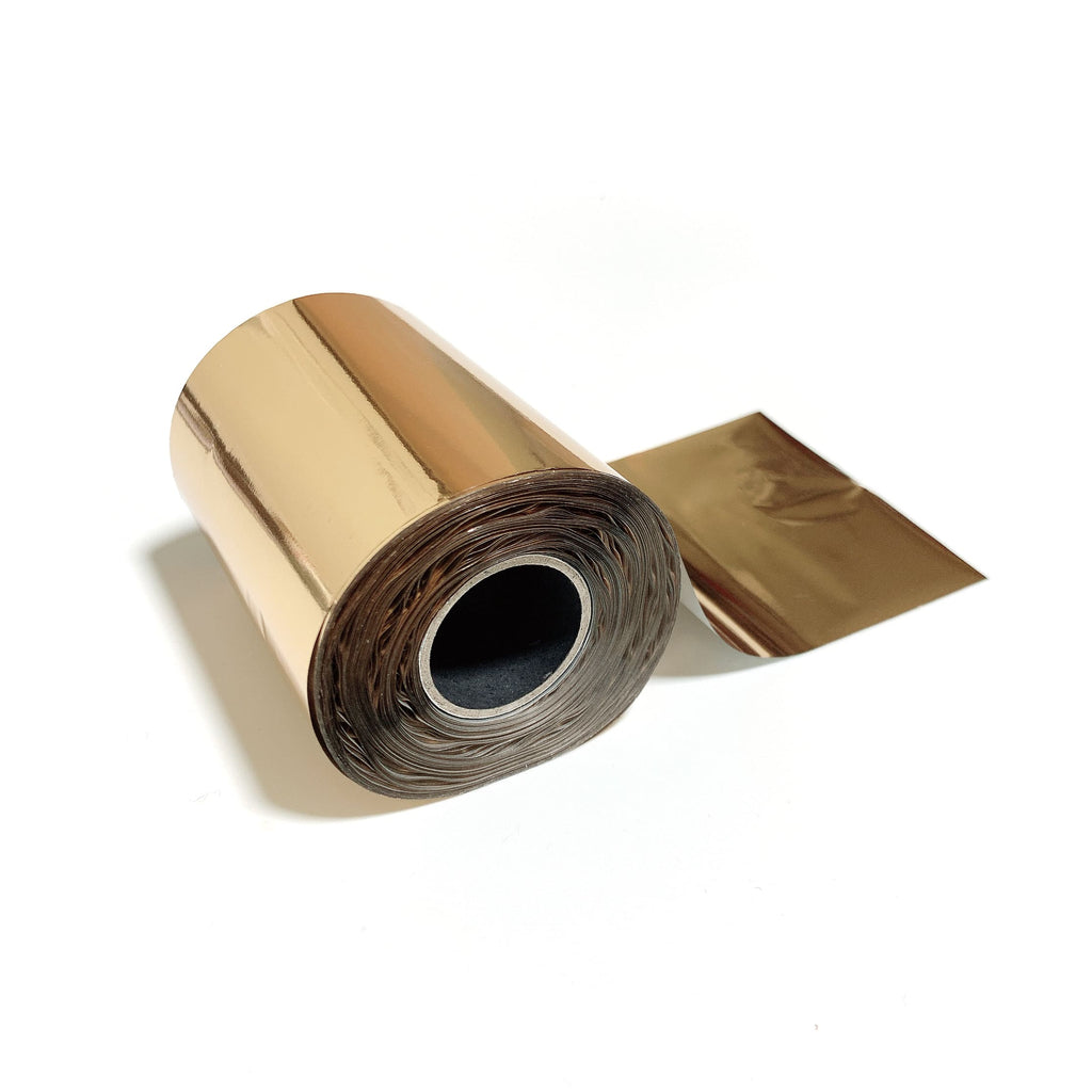 Light Warm Gold Metallic Foil for Paper, Card, Wood