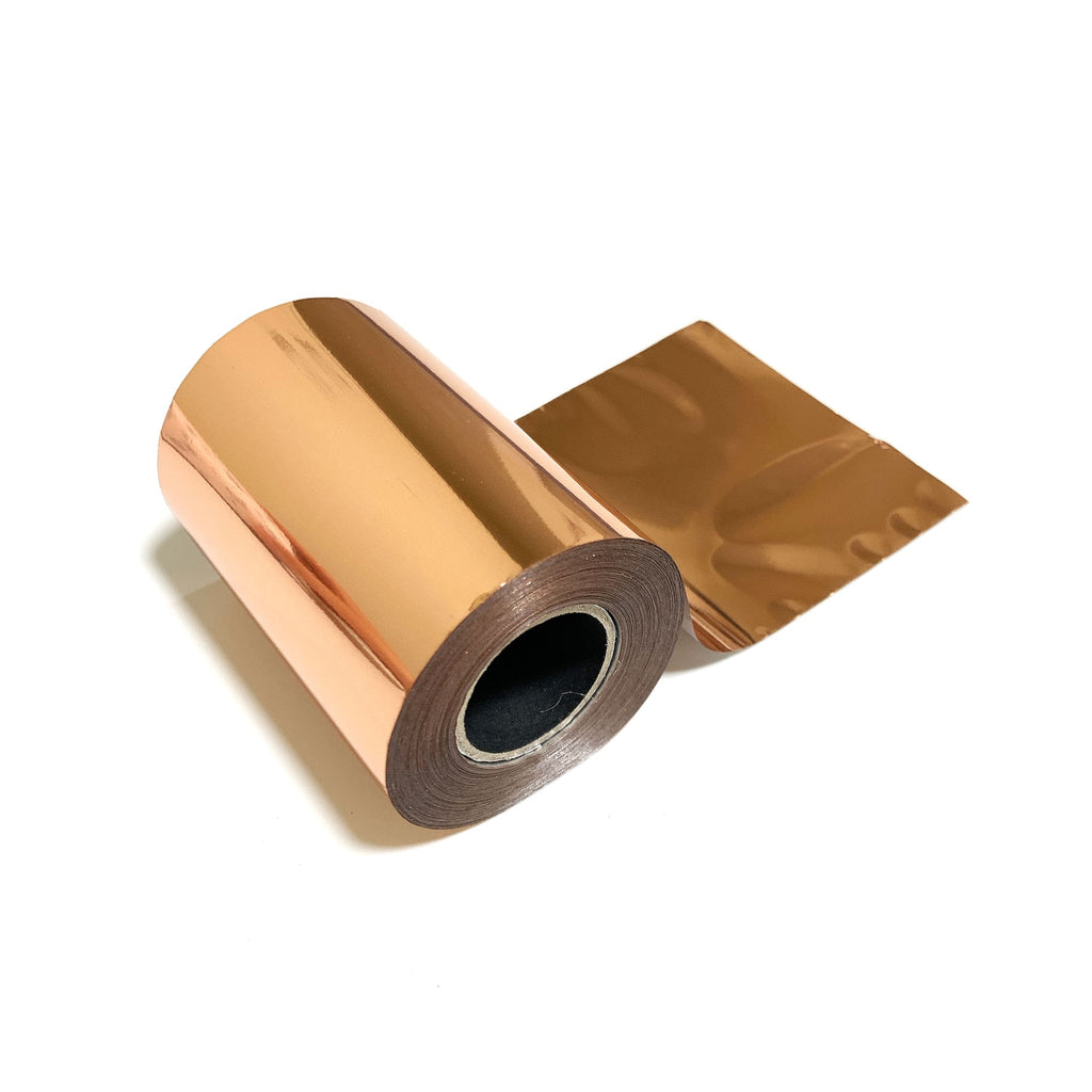 Rose Gold Metallic Foil for Paper, Card, Wood