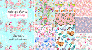 Fabric Shop, Digital, fabric, flamingos ballerina floral tropical wizard of oz
