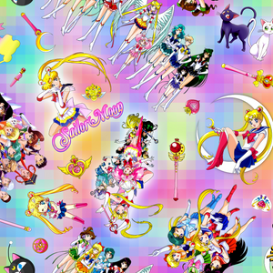 PRE ORDER - Sailor Moon - Digital Fabric Print