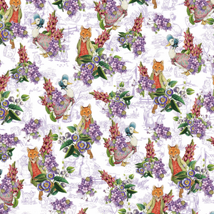 PRE ORDER - Beatric Potter Jemima - Digital Fabric Print