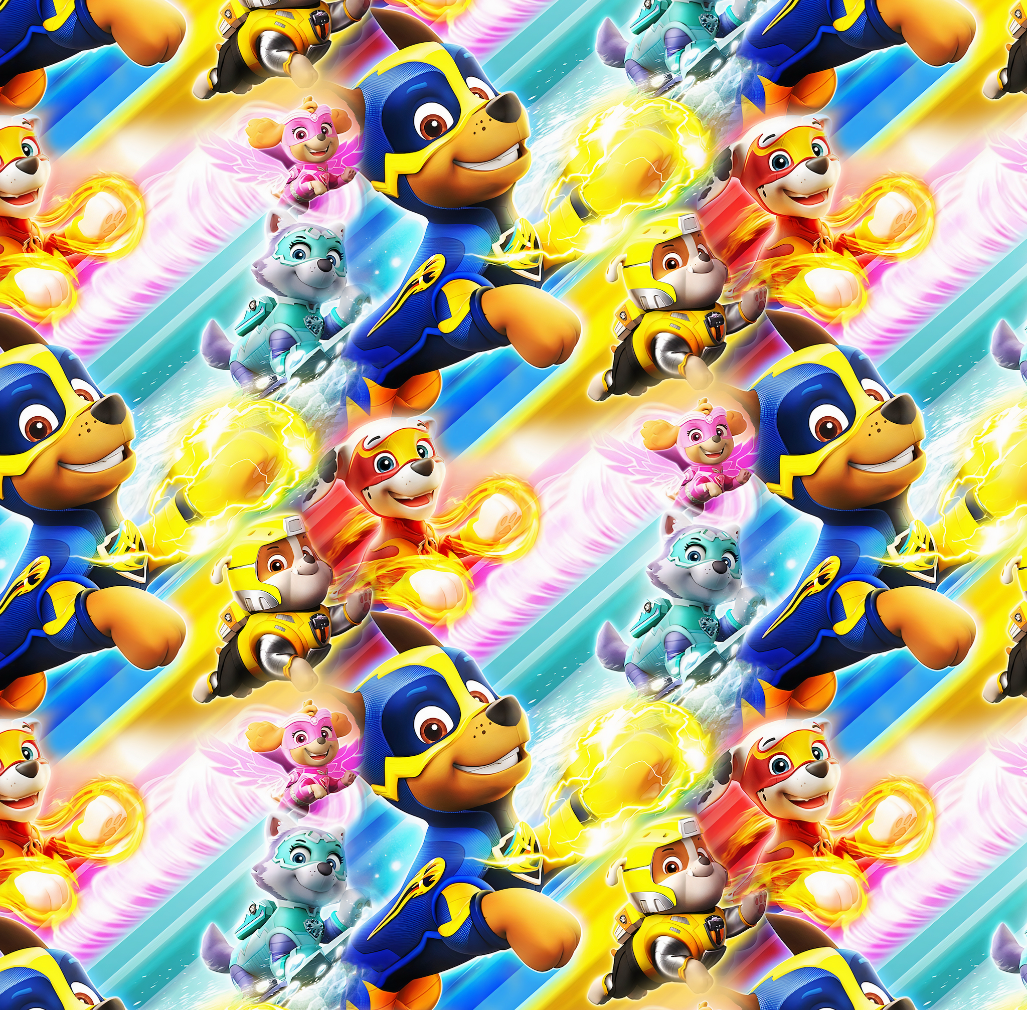 PRE ORDER - Paw Patrol Fire - Digital Fabric Print
