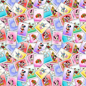 PRE ORDER - Disney Cards - Digital Fabric Print