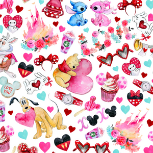 PRE ORDER - Disney Treats - Digital Fabric Print