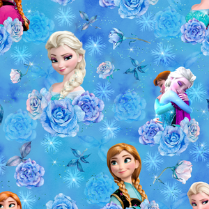 PRE ORDER - Frozen Roses - Digital Fabric Print