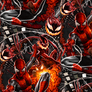 PRE ORDER - Amazing Spiderman Fire - Digital Fabric Print