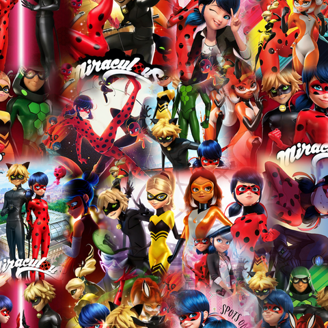 PRE ORDER - Miraculous - Digital Fabric Print