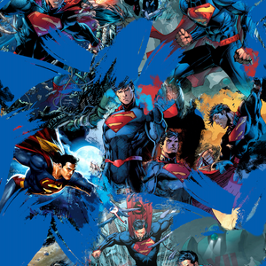 PRE ORDER - Amazing Superman - Digital Fabric Print