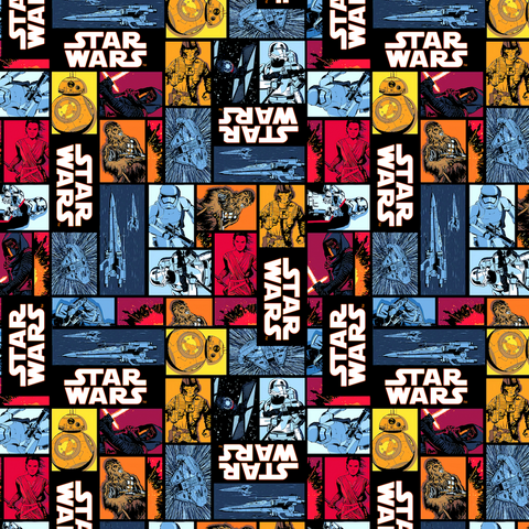 PRE ORDER - Star Wars Puzzle - Digital Fabric Print