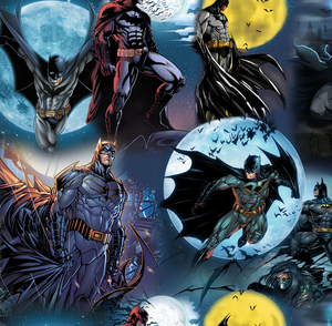 PRE ORDER - Amazing Batman - Digital Fabric Print
