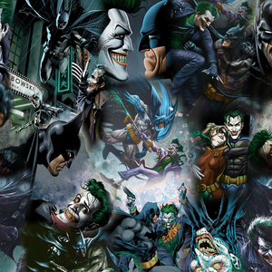 PRE ORDER - Amazing Joker- Digital Fabric Print