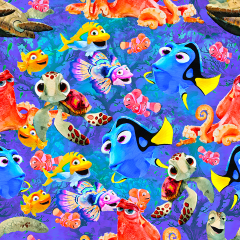 PRE ORDER - Nemo's Adventures - Digital Fabric Print