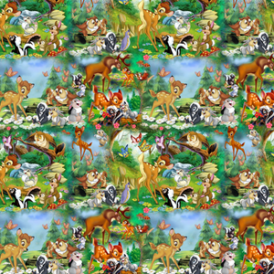 PRE ORDER - Bambi's Adventures - Digital Fabric Print