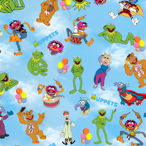 PRE ORDER - Muppets - Digital Fabric Print