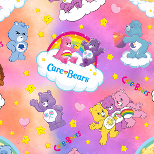 PRE ORDER - Carebear LOVE - Digital Fabric Print