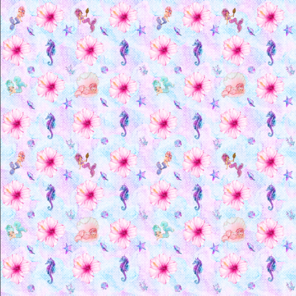 IN STOCK - Mermaid Dreams - WOVEN COTTON