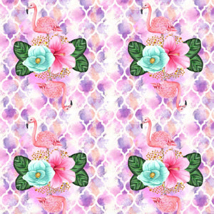 PRE ORDER Flamingo Fling - MM Fabric Print