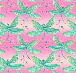 PRE ORDER Dragonflies - MM Fabric Print