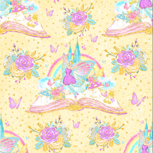 PRE ORDER Fairyland Yellow - MM Exclusive Fabric Print
