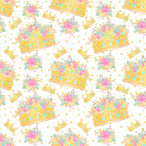 PRE ORDER Fairyland Crowns - MM Fabric Print