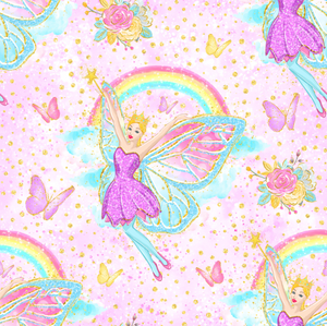 PRE ORDER Fairyland Pink - MM Fabric Print