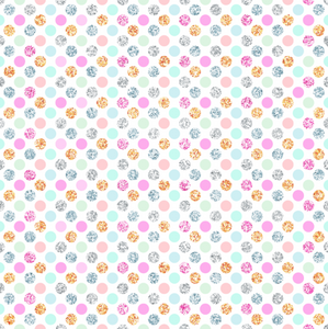 PRE ORDER Winter Wonderland Dots - Digital Fabric Print