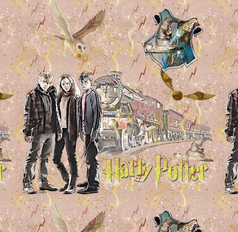 PRE ORDER Harry Potter Main - Digital Fabric Print