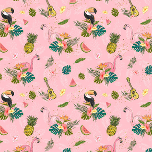 PRE ORDER Tropical Vibes Flamingo Pink