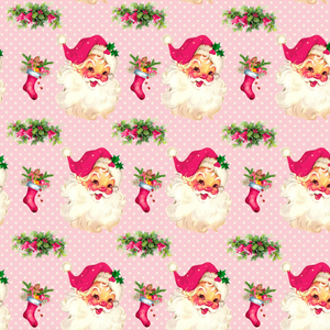 PRE ORDER Cheeky Santa - MM Exclusive Fabric Print