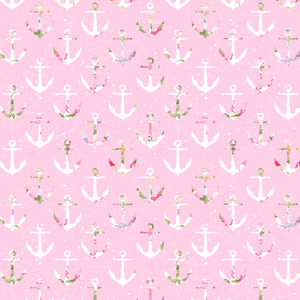 PRE ORDER Sailor Girl Anchors Pink