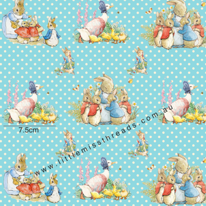 PRE ORDER Peter Rabbit in Blue Fabric