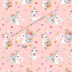 PRE ORDER Easter Wonderland Pink Fabric
