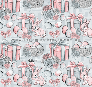 PRE ORDER Baby Bunnies in Grey