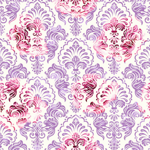 IN STOCK - Beauty & Beast Damask - WOVEN COTTON