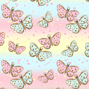 PRE ORDER - Winnie Butterflies - Digital Fabric Print