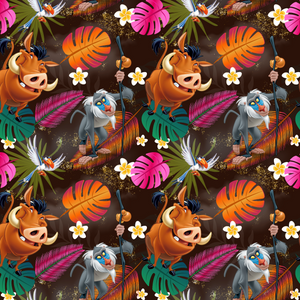 PRE ORDER - Lion King Brown - Digital Fabric Print