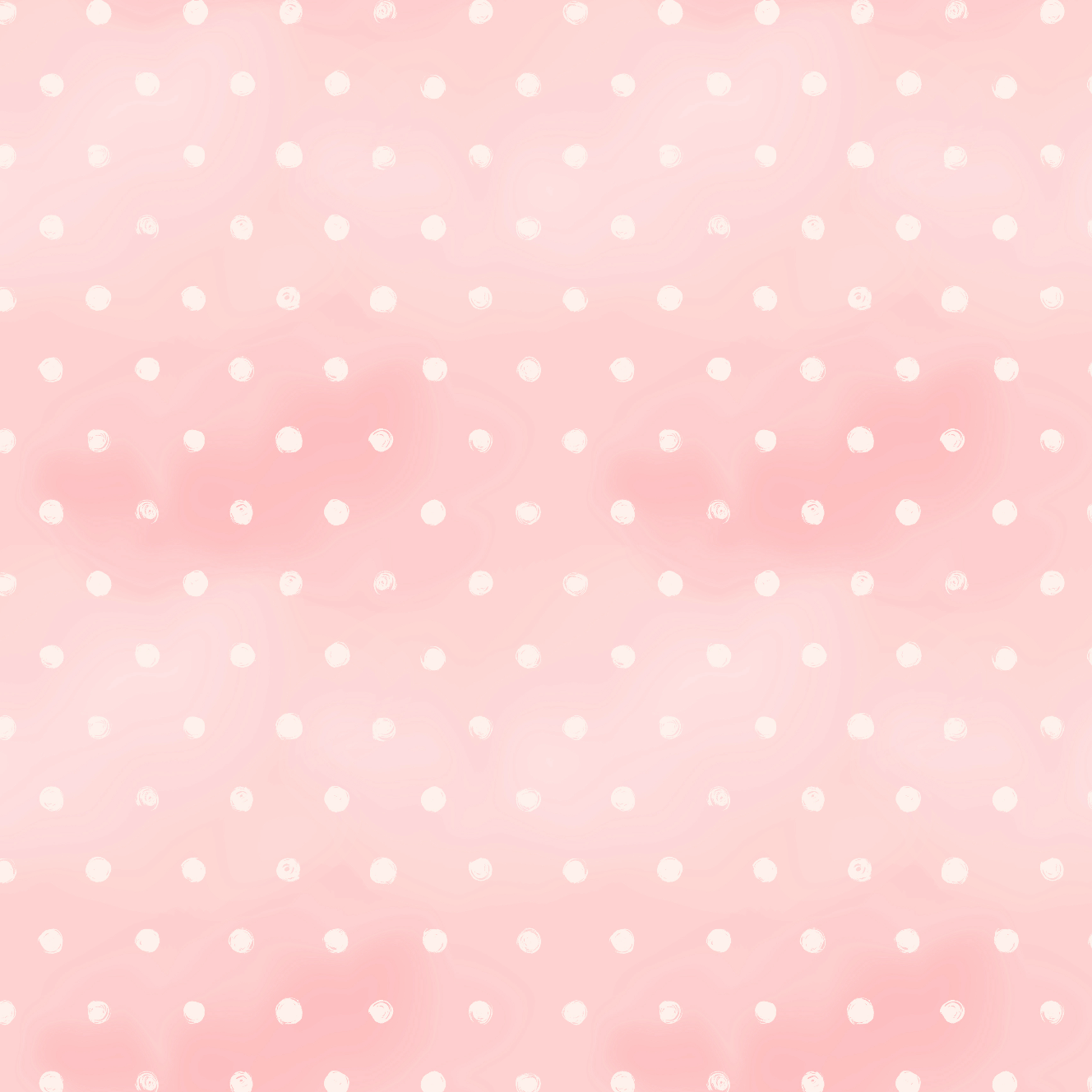 PRE ORDER - Bambi Pink Dot - Digital Fabric Print