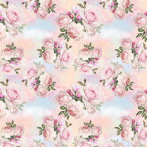 PRE ORDER - Dumbo Roses - Digital Fabric Print