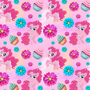 PRE ORDER - My Little Pony Pink - Digital Fabric Print